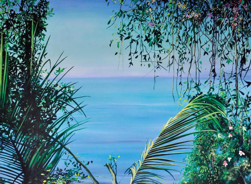 Marion Charlet, Quietud, 2015, acrylique sur toile, 146 x 114cm
