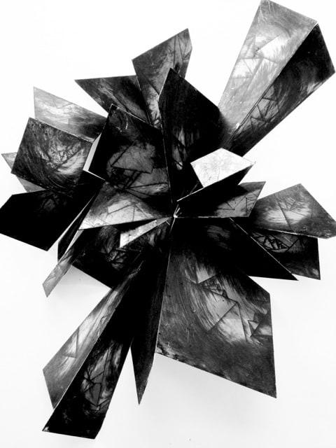 Alan Gouldbourne, Liminal Relief Series, 2014, Aluminium, 60x40x20 cm