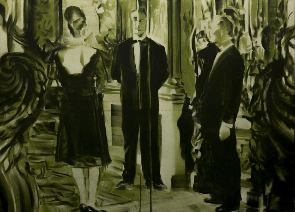 Bartek Materka, Still 4, 2013, Huile sur toile, 180 x 130cm