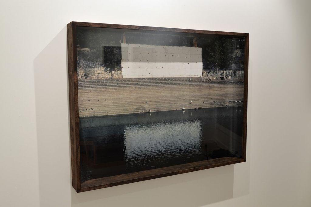 Guillaume Krattinger, Phosphène, 2013, silver print on paper, 118x88cm