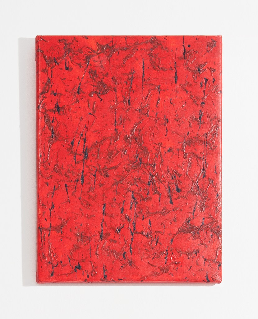 Garrett Pruter, Untitled 20, 2014, Photographic Pigments and Acrylicon Canvas, 40x30cm