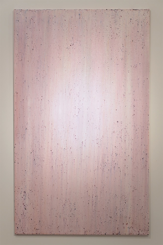 Garrett Pruter, Untitled 7, 2013, Photographic Pigments and Acrylicon canvas, 160x100cm