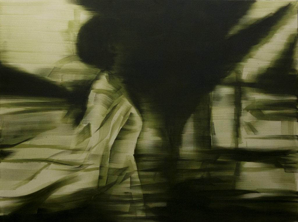 Bartek Materka, Still 1, 2013, Huile sur toile, 160 x 120cm