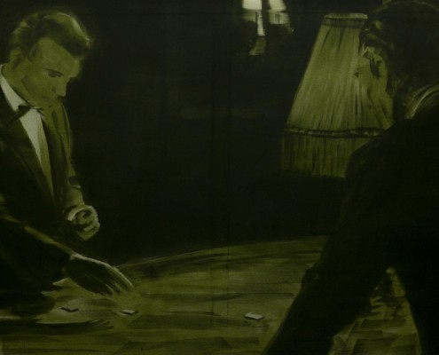 Bartek Materka, Still 3, 2013, Huile sur toile, 150 x 100cm