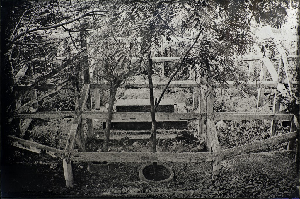 Guillaume Krattinger, Correspondances, 2014, ambrotype, 120 x 80cm