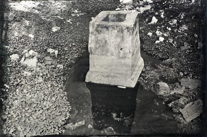 Guillaume Krattinger, Sans titre, 2014, ambrotype, 120 x 80cm