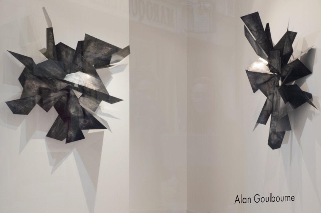 Alan Goulbourne, Vue de l'exposition Cutting Edge