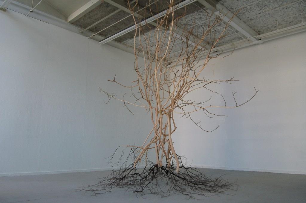 Alan Goulbourne, Fractals, 2010, bois , 366 x 394 x 338 cm