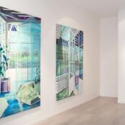 Marion Charlet, vue de l'exposition As Long as It lasts, Galerie Virginie Louvet, 2015