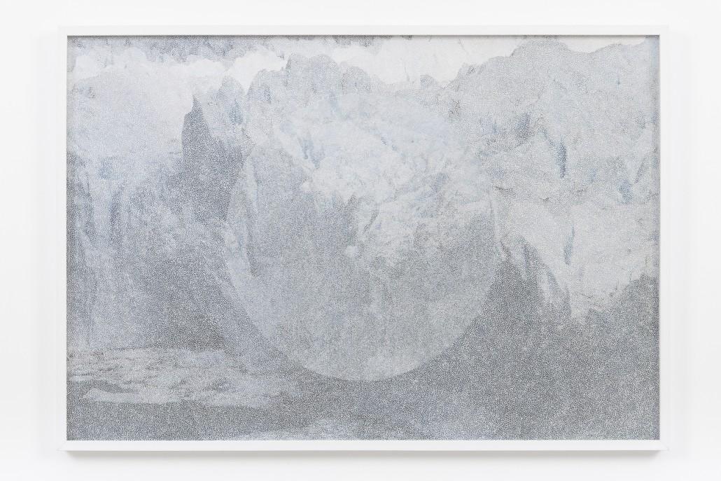 Giulia Manset, Sans titre, 2015, feutre sur photographie, 100 x 70 cm