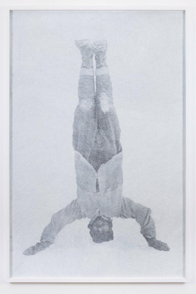Giulia Manset, Benjamin Smith, feutre sur photographie, 103 x 153 cm
