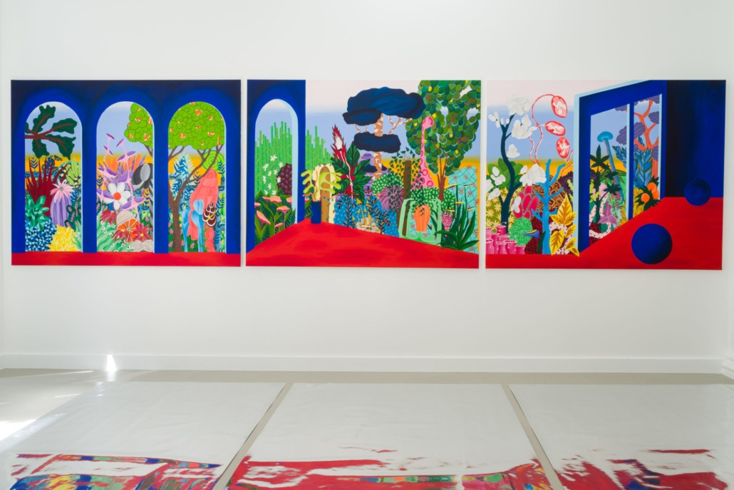 Hortus, vue d'exposition, 2021