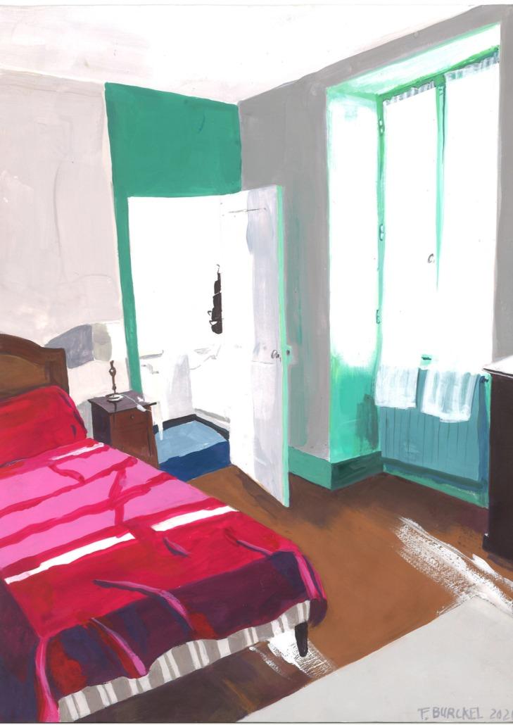 Charroux : la chambre de Didi, 2020
